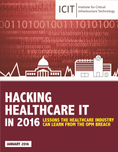 Hacking Hospitals Cover
