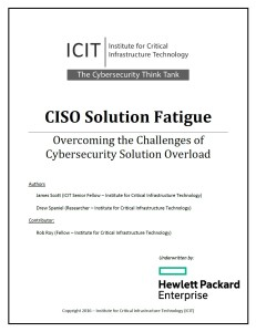 CISO Solution Fatigue