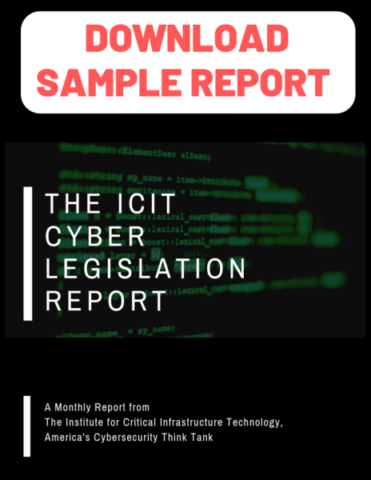 cybersecurity legislation, ICIT,