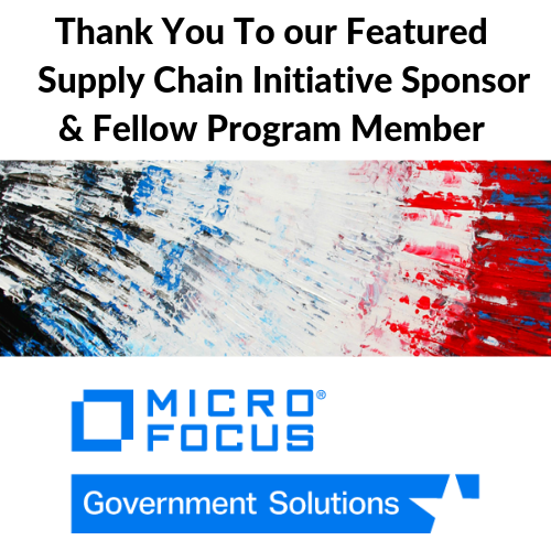Micro Focus Government Soluctions, Supply Chain Security, MFGS, ICIT, Government Cybersecurity, Micro Focus, Supply Chain, Nationa Security