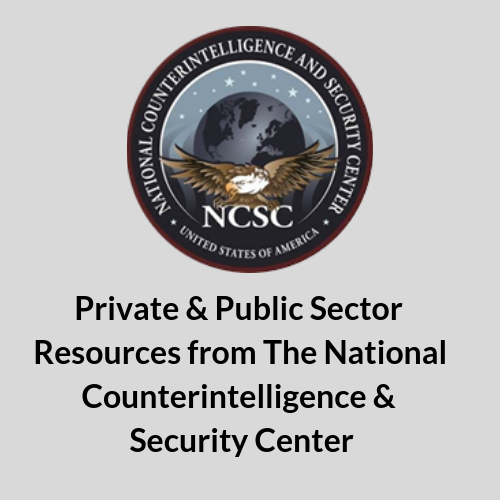 NCSC, ICIT, Institute for Critical Infrastructure Technology, Cybersecurity, Counterintelligence, National Security, Intelligence Community